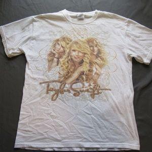 Taylor Swift Luke Bryan Concert Tee Shirt Lot M
